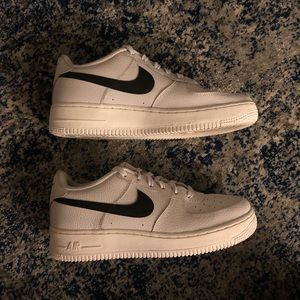 Nike Air Force 1 Low Black and Grey